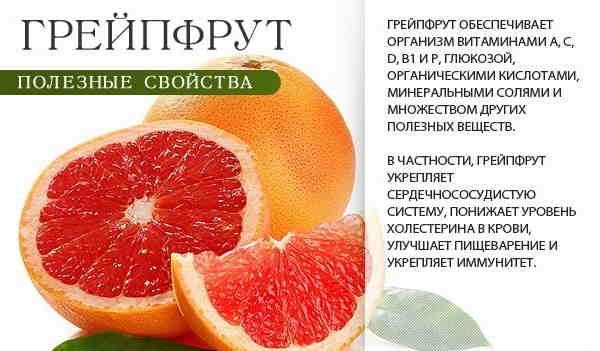 Грейпфрут и сахарный диабет