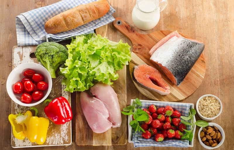 Продукты на диете №9