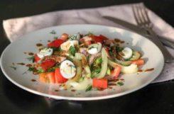 Диетический салат с говяжьим языком