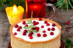Праздничный чизкейк для диабетиков