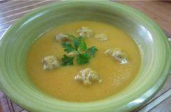 Гороховый суп с фрикадельками при диете - вкусно с