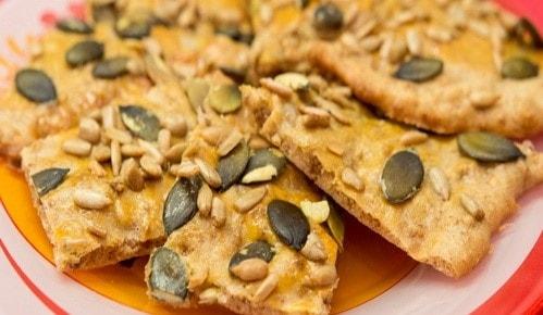 Рецепт диетического печенья из отрубей и семечек