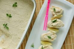 Паштет из фасоли с кунжутом для вкусного диетического перекуса