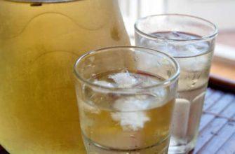 Освежающий миндальный чай по-летнему для диабет диеты