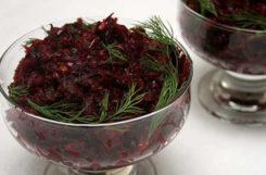 Диетический салат из свеклы для быстрого перекуса
