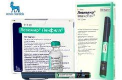 Применение инсулина продленного действия Левемир при диабете