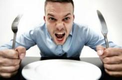 Чувство голода и повышенный аппетит