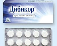 Дибикор от холестерина: как принимать, отзывы о препарате, дозировка и цена