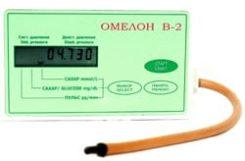 Глюкометр Омелон в 2: цена и отзывы о неинвазивном и бесконтактоном измерителе сахара